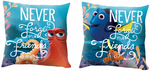cushion with Disney Finding Dory theme, 40 x 40 cm, filled 001