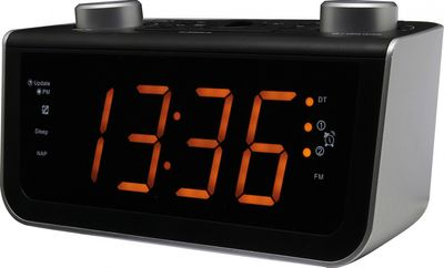 Soundmaster FUR5005 - FM PLL-Clock Radio with Jumbo Display and dualalarm – Image 2