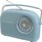Soundmaster DAB450BL - DAB+ / UKW Retro Radio in blau 001