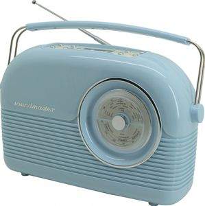 Soundmaster DAB450BL - DAB+ / UKW Retro Radio in blau