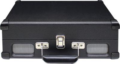 Soundmaster PL580 schwarz - Nostalgie Koffer Plattenspieler mit Kopfhöreranschluss – Bild 4