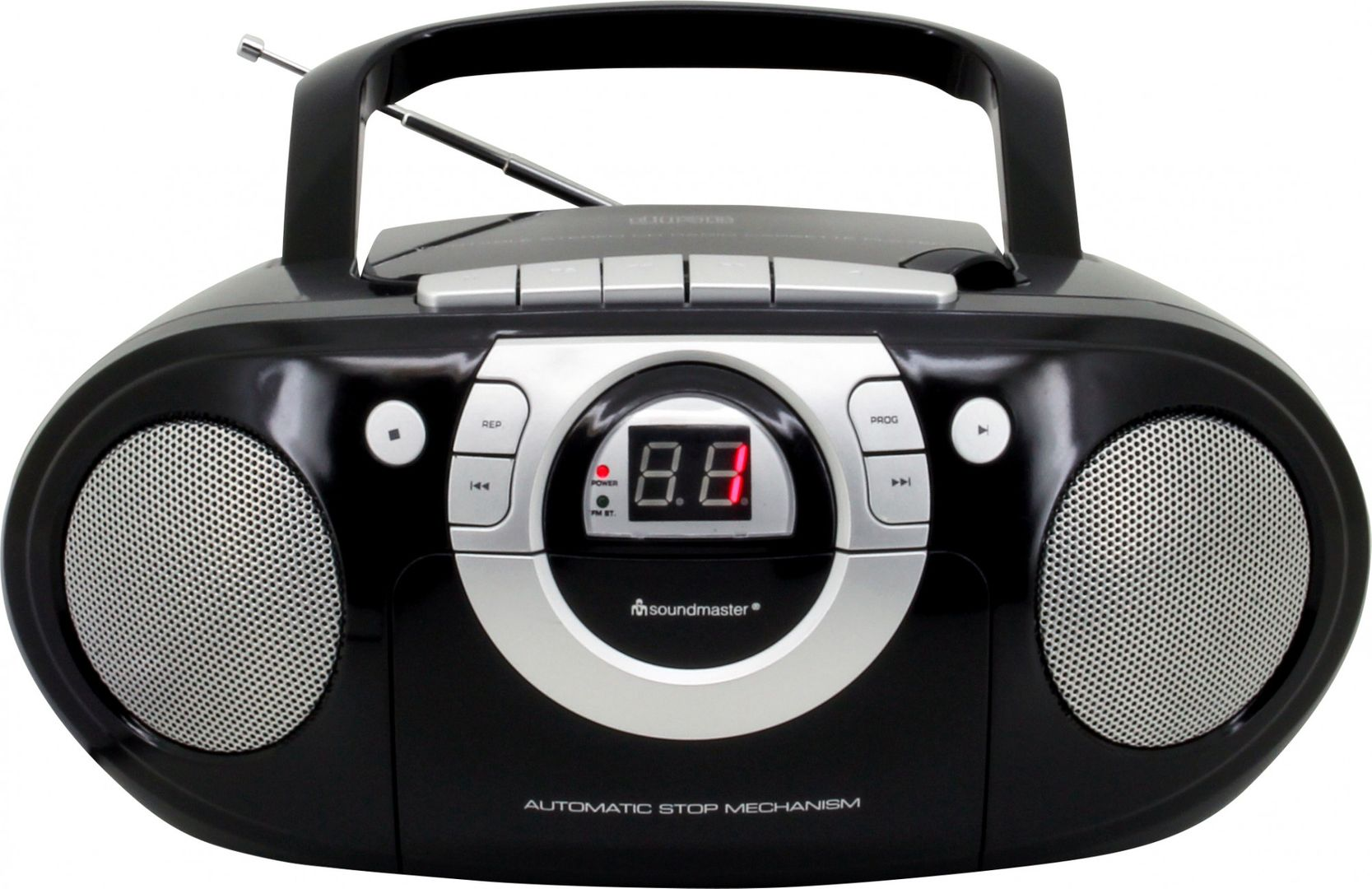 soundmaster scd5100sw radio kassettenspieler mit cd. Black Bedroom Furniture Sets. Home Design Ideas