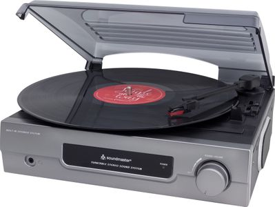 Soundmaster PL200 Record Player with legendary original Christmas Tracks on your LP – Image 1