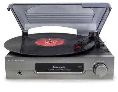 Soundmaster PL200 Record Player with legendary original Christmas Tracks on your LP – Image 2