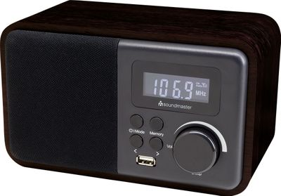 Soundmaster TR250 UKW PLL-Radio mit USB und Bluetooth