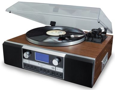 Soundmaster PL905 Nostalgic Music-Centre with Turntable and CD-Burner