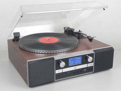 Soundmaster PL905 Nostalgic Music-Centre with Turntable and CD-Burner – Image 2