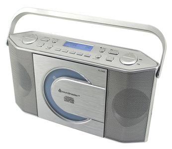 Soundmaster RCD1770SI DAB+ und UKW Digitalradio mit CD/MP3 Spieler – Bild 1