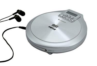 Soundmaster CD9220SI CD/MP3-Player mit Akkulade- und Resume-Funktion – Bild 1