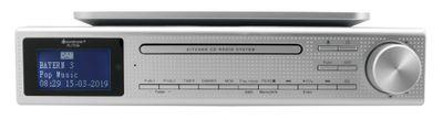 Soundmaster Eliteline UR2195SI Design CD-MP3 Musik-Center zum Unterbau mit DAB+ UKW Radio USB und Bluetooth – Bild 1