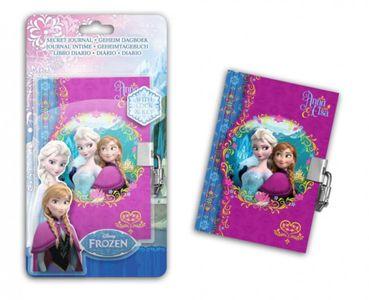 Tagebuch mit Schloss - Disney Frozen / Eiskönigin Motiv A6