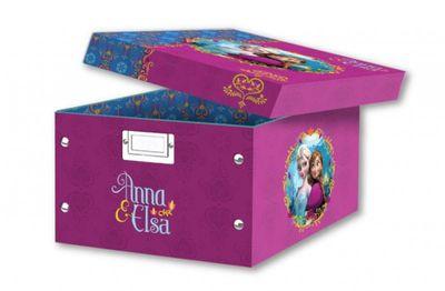 Faltbare Aufbewahrungsbox mit Frozen / Eiskönigin Motiv
