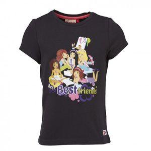 LEGO WEAR Friends T-Shirt Tanisha 611 für Mädchen in grau – Bild 1