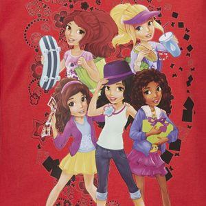 LEGO WEAR Friends Langarmshirt Tanisha 602 für Mädchen in rot – Bild 3