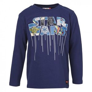 Lego Wear Star Wars Langarmshirt / Shirt Timmy 655 in blau – Bild 1