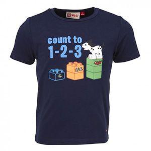 LEGO WEAR (Lego Duplo) T-Shirt Tod 608 in blau – Bild 1
