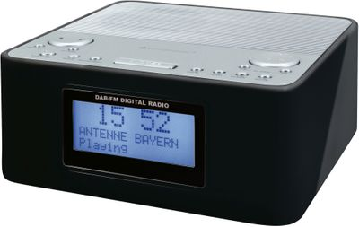 Soundmaster UR170SW DAB+/FM Digital Clock Radio with Dual Alarm