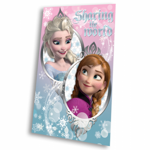 Fleecedecke mit Disney Frozen / Die Eiskönigin Motiv 100x150 cm – Bild 1