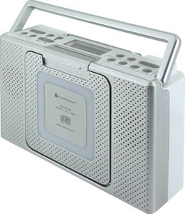 Soundmaster BCD480 Splashproof Bathroom CD/MP3-Radio – Image 1