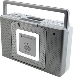 Soundmaster BCD480 Splashproof Bathroom CD/MP3-Radio – Image 2