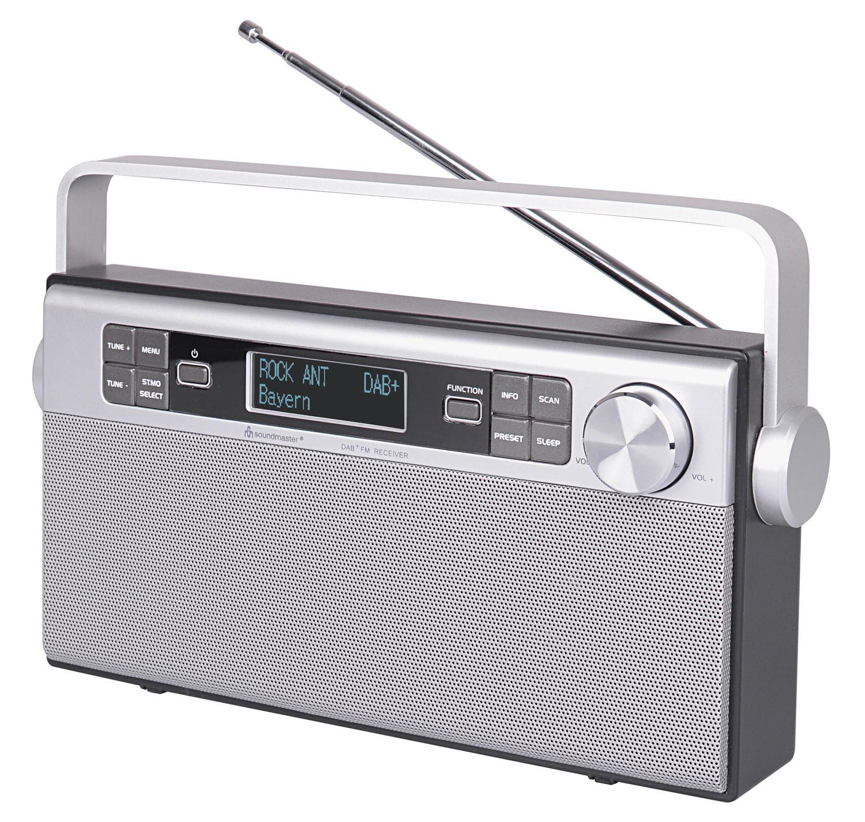 soundmaster dab650si tragbares dab ukw pll radio mit. Black Bedroom Furniture Sets. Home Design Ideas