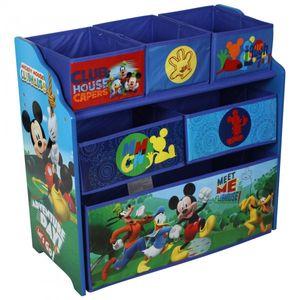 Disney Mickey Mouse Kinderregal aus Holz mit Aufbewahrungsboxen – Bild 2