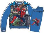 Jogging Suit with Spiderman theme, blue 001