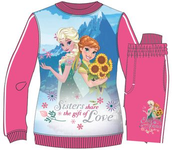 Jogging Suit with Disney Frozen theme, pink