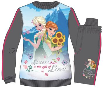 Jogging Suit with Disney Frozen theme, grey