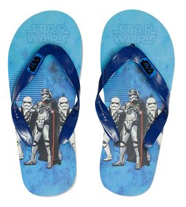 Flip Flops with Star Wars theme