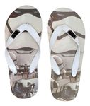 Flip Flops with Star Wars theme 001