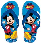 Flip Flops with Disney Mickey Mouse theme 001