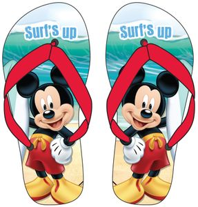 Flip Flops with Disney Mickey Mouse theme
