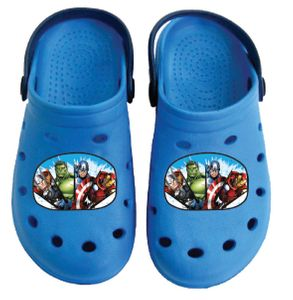 Marvel Avengers Clogs / Slipper / Beach Sandals in dark blue