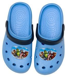 Marvel Avengers Clogs / Slipper / Beach Sandals in light blue