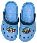 Marvel Avengers Clogs / Slipper / Beach Sandals in light blue 001