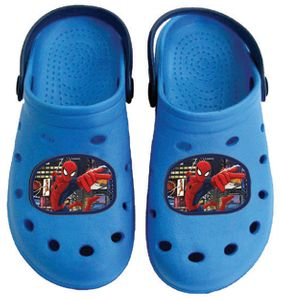 Spiderman Clogs / Slipper / Beach Sandals in dark blue