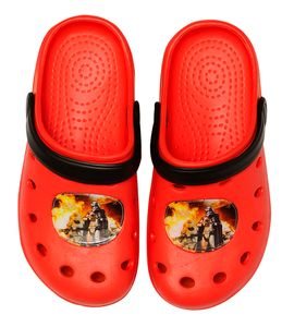 Star Wars Clogs / Slipper / Beach Sandals in red