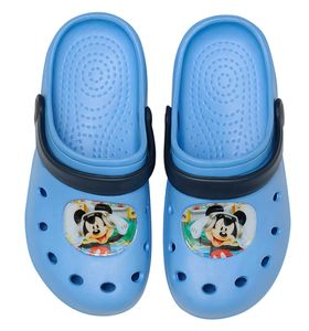 Disney Mickey Mouse Clogs / Slipper / Beach Sandals in light blue