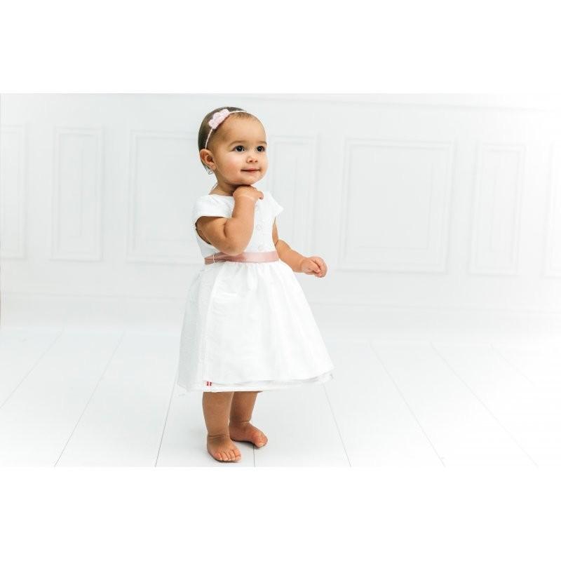 Mogo Dirndl Taufkleid Taufdirndl Kleid Gr 62 74 Zur Taufe Weiß Mit Schürze