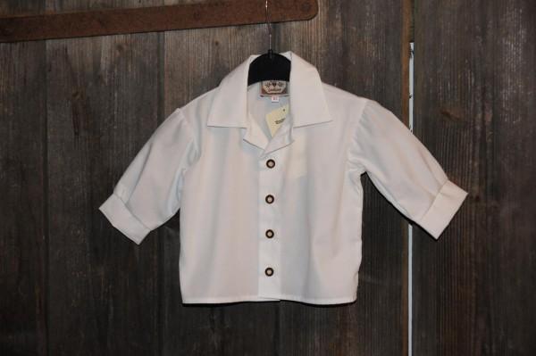 Turi Baby Trachtenhemd Hemd zur Taufe weiß Gr. 62 - 86 – Bild 1