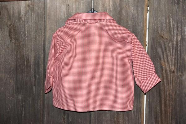 Turi Baby Trachtenhemd Hemd zur Taufe rot Gr. 62 - 80 – Bild 2