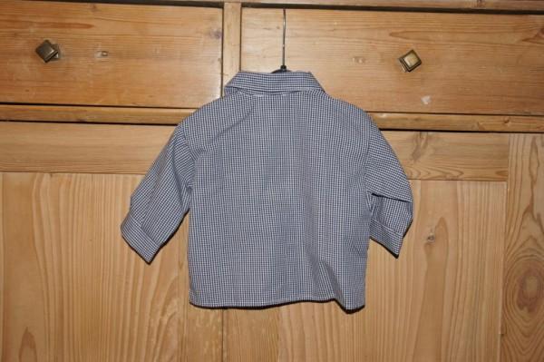 Turi Baby Trachtenhemd Hemd zur Taufe blau Gr. 62 - 80 – Bild 2