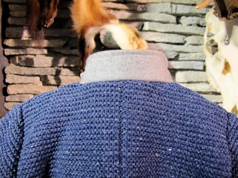 Isar Trachten Strickjacke Trachtenjacke jeansblau Gr. 62 - 176 – Bild 5