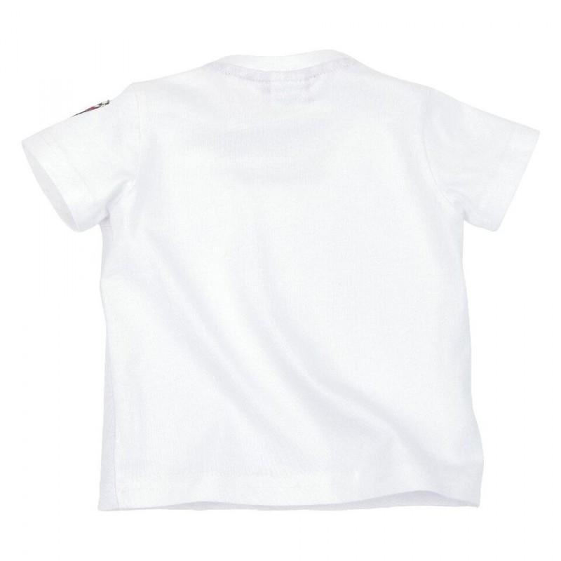 Bondi Shirt Trachtenshirt  T-Shirt weiß Gr. 62 - 116 Ziegenbock – Bild 2