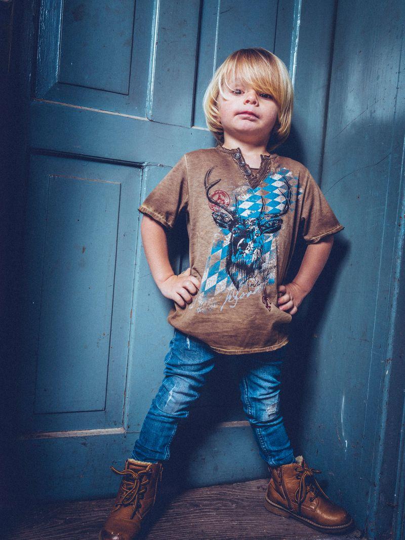 Hangowear Trachtenshirt Kindershirt T-Shirt Gr 86 - 152 – Bild 1