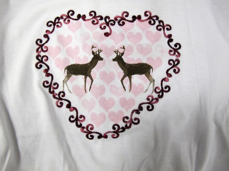 Spieth Wensky Shirt Trachtenshirt  T-Shirt weiß / rot Gr. 86 - 140 – Bild 2