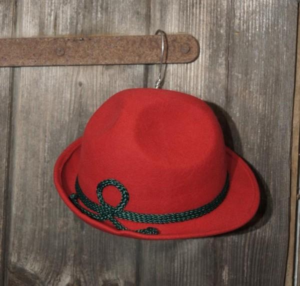 Hut Trachtenhut rot  Trachtenhut Gr. 48-56 – Bild 1