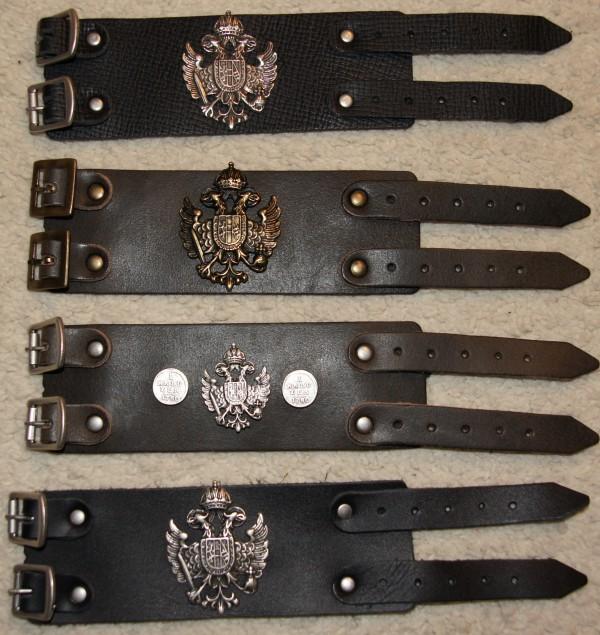 Armband Leder Lederarmband braun zur Lederhose Bayern schmal – Bild 4