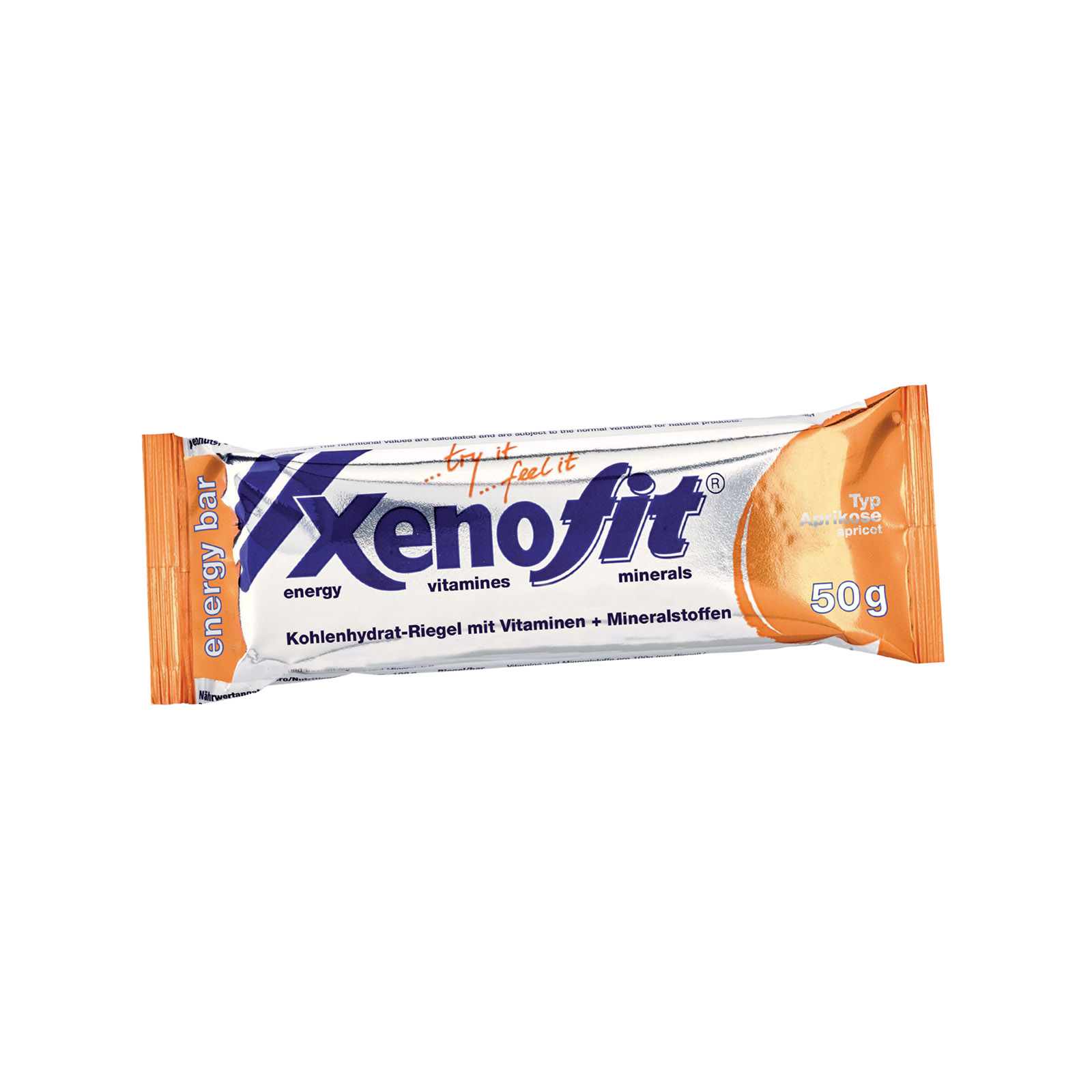 4,80€//100g Xenofit energy bar Schoko Crunch Energie-Riegel 5x50g